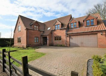 Thumbnail 6 bed detached house for sale in Thorpe Road, Whisby, Lincoln