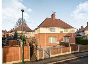 Thumbnail 2 bed semi-detached house for sale in Woodley Square, Bulwell, Nottingham, Nottinghamshire