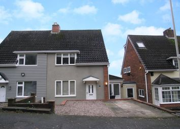 Thumbnail 2 bed semi-detached house for sale in Dudley, Russells Hall, Merryfield Road