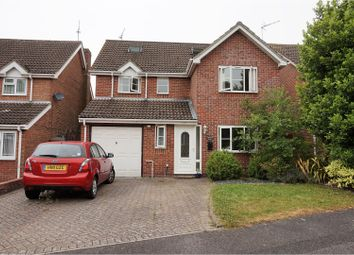 Thumbnail 5 bed detached house for sale in Gullycroft Mead, Hedge End