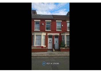 Thumbnail 5 bed terraced house to rent in Malvern Road, Liverpool