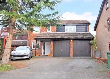 Thumbnail 4 bed detached house for sale in Lambourne Drive, Locks Heath, Southampton