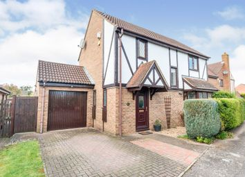 Thumbnail 4 bed detached house for sale in Byron Close, Biggleswade