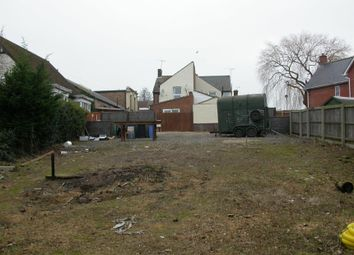 Thumbnail Land for sale in Foxhall Road, Ipswich