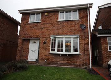 Thumbnail 3 bed detached house for sale in Wretham Close, Mickleover, Derby