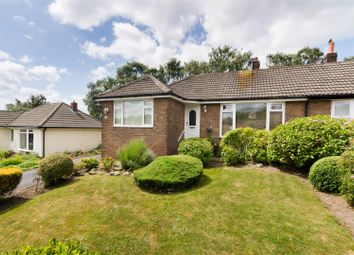 Thumbnail 3 bed semi-detached bungalow for sale in Moseley Wood Crescent, Cookridge, Leeds
