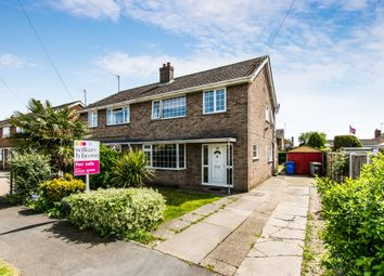 Thumbnail 3 bed semi-detached house for sale in Wybert Crescent, Wyberton, Boston
