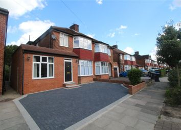 Thumbnail 3 bed semi-detached house to rent in Oakwood Park Road, London