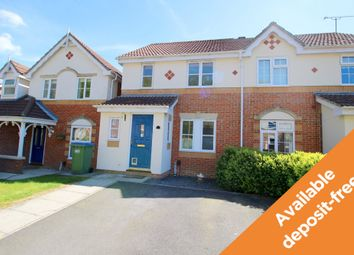 Thumbnail 3 bed semi-detached house to rent in Andersen Close, Whiteley, Fareham