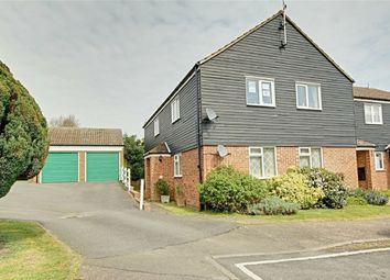 Thumbnail 3 bed flat for sale in Leat Close, Sawbridgeworth, Hertfordshire