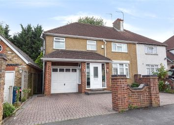 Thumbnail 4 bedroom end terrace house for sale in Greenway, Pinner, Middlesex