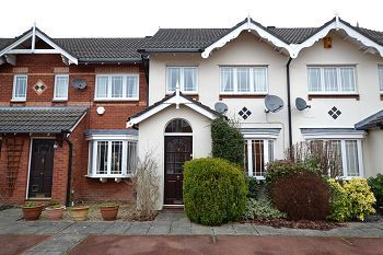 Thumbnail 3 bed terraced house to rent in Shelbourne Mews, Macclesfield, Cheshire