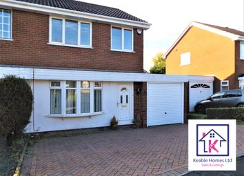 Thumbnail 3 bed semi-detached house to rent in Bond Way, Hednesford, Cannock