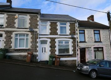 Thumbnail 2 bed terraced house for sale in Upper Church Street, Bargoed, Caerffili