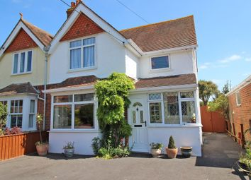 Thumbnail 3 bed semi-detached house for sale in Carrington Lane, Milford On Sea, Lymington