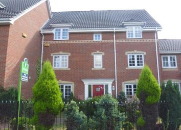 Thumbnail 4 bed terraced house to rent in Tiber Road, North Hykeham, Lincoln