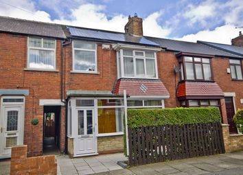 Thumbnail 4 bed terraced house for sale in Marina Avenue, Redcar