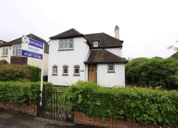 Thumbnail 3 bed detached house to rent in Nursery Close, Horsell, Woking