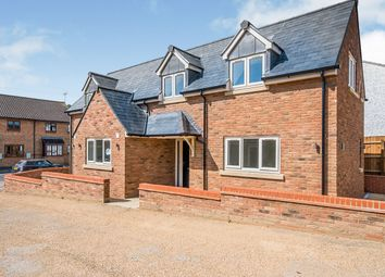 Thumbnail 3 bed detached house for sale in Stackyard Close, Stilton, Peterborough