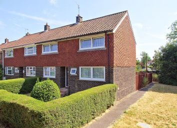 Thumbnail 3 bed terraced house for sale in Foxes Croft, Barnham