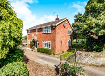 Thumbnail 3 bed detached house for sale in Castle Hill, Welbourn, Lincoln