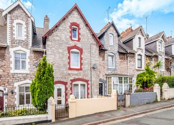 Thumbnail 4 bed terraced house for sale in Victoria Road, Torquay
