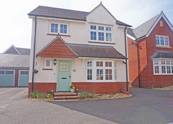 Thumbnail 4 bed detached house for sale in Peregrine Close, Cwm Calon, Ystrad Mynach