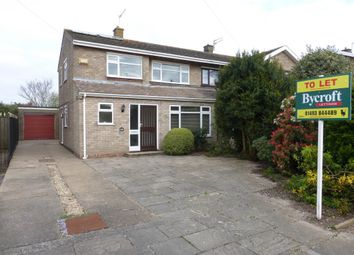 Thumbnail 3 bedroom semi-detached house to rent in Wadham Road, Gorleston, Great Yarmouth