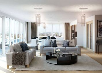 Thumbnail 3 bed flat for sale in Marquis House, Sovereign Court, Hammersmith, London