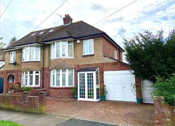 Thumbnail 3 bed semi-detached house for sale in Byron Crescent, Bedford