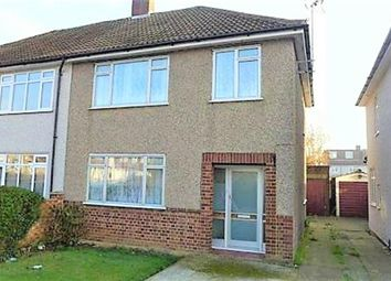 Thumbnail 3 bed semi-detached house to rent in Bedonwell Road, Bexleyheath, Kent