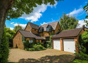 Thumbnail 4 bed detached house for sale in School Lane, Hannington, Northampton