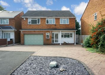 Thumbnail 4 bed detached house for sale in Porter Close, Wylde Green, Sutton Coldfield