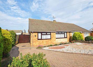 Thumbnail 2 bed semi-detached bungalow for sale in Cooden Close, Rainham, Gillingham
