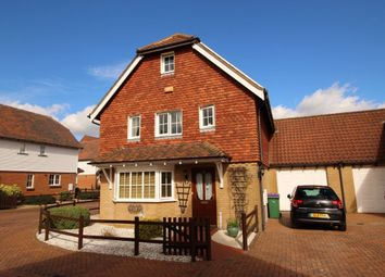 Thumbnail 4 bed detached house for sale in Sandpiper Road, Hawkinge, Folkestone