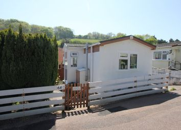 Thumbnail 1 bed mobile/park home for sale in Beechdown Park, Totnes Road, Paignton