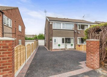 Thumbnail 3 bed semi-detached house for sale in Primley Park Drive, Alwoodley, Leeds