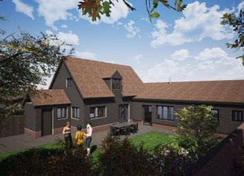Thumbnail 3 bed barn conversion for sale in Woolpit, Bury St Edmunds, Suffolk