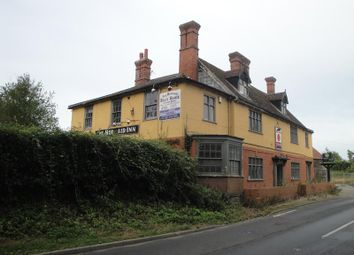 Thumbnail Leisure/hospitality for sale in The Mermaid, Norwich Road, Hedenham, Bungay