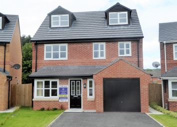 Thumbnail 5 bed detached house for sale in Nant Court, Brymbo, Wrexham
