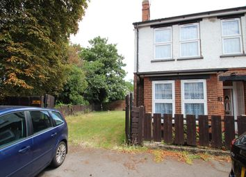 Thumbnail 3 bedroom end terrace house for sale in Stoke Hall Road, Ipswich