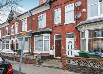 Thumbnail 3 bed terraced house for sale in Lodge Road, West Bromwich