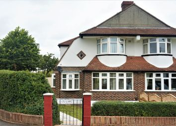 Thumbnail 3 bedroom semi-detached house for sale in Woodmere Avenue, Croydon