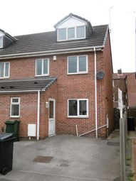 Thumbnail 3 bed semi-detached house to rent in Clough Street, Rotherham