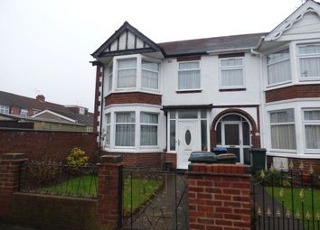Thumbnail 3 bedroom terraced house to rent in Sommerville Road, Wyken, Coventry