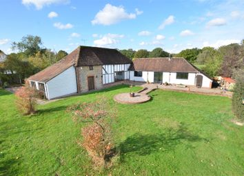Waterman Quarters, Headcorn, Ashford TN27. 4 bed equestrian property for sale