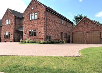 Thumbnail 5 bedroom detached house for sale in Rake, Hill, Burtnwood