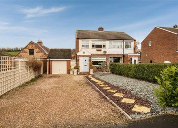 Thumbnail 3 bed semi-detached house for sale in Woldgate, North Newbald, York