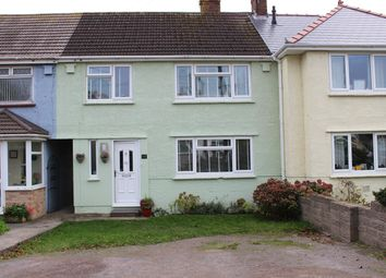Thumbnail 3 bed terraced house for sale in Fitzhamon Avenue, Llantwit Major
