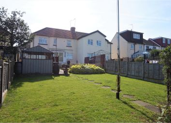 Thumbnail 2 bed semi-detached house for sale in Beech Road, Rochester